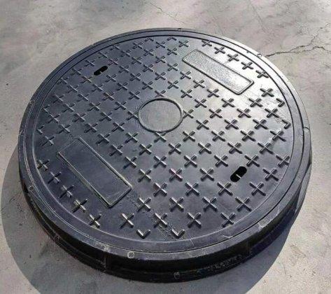 球墨铸铁复合树脂井盖